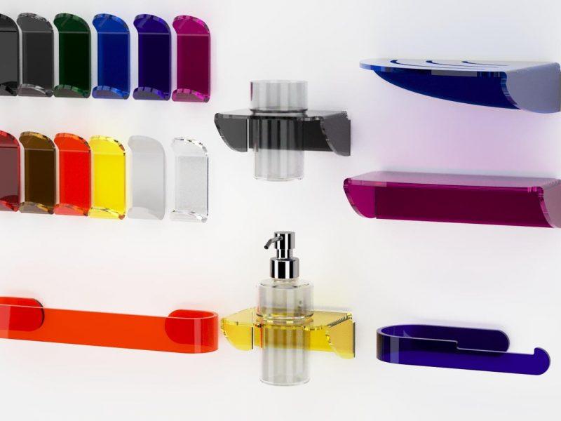 Serie Dea in plexiglass