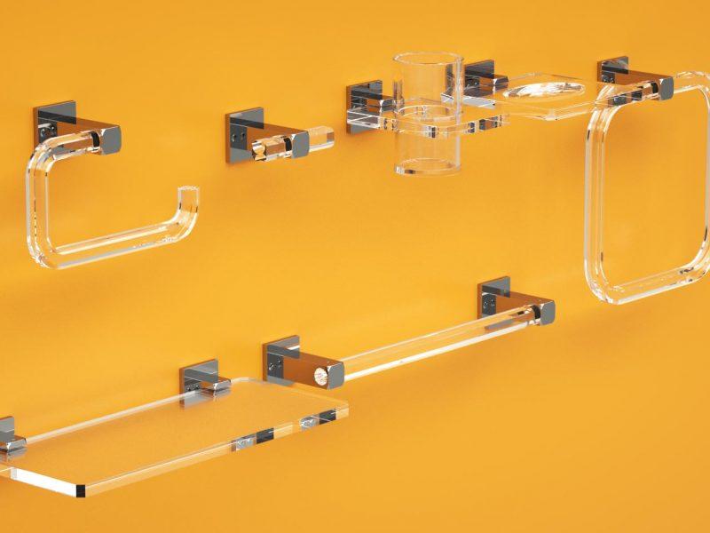 Serie Quadra in plexiglass