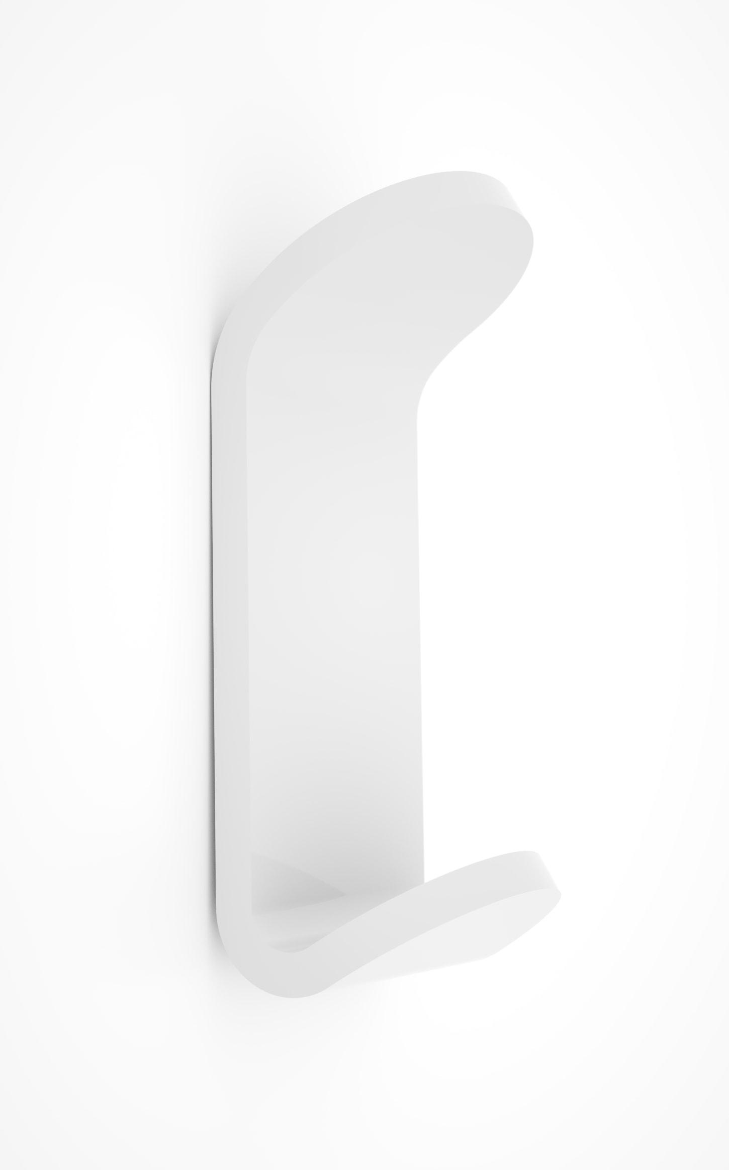 Appendiabito in plexiglass serie dea pratico e innovativo - Accessori bagno in plexiglass ...