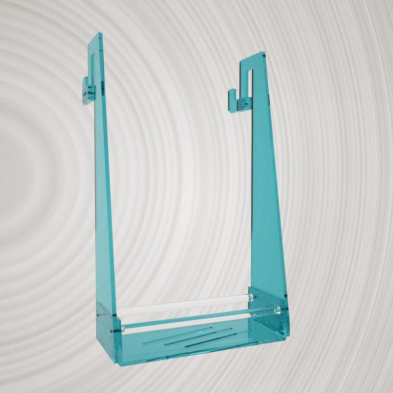 Appendibile per box doccia in plexiglass